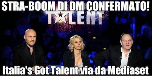 Italia's Got Talent su Sky