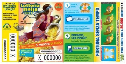 Lotteria Italia - biglietti vincenti