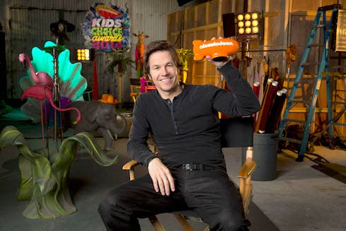 Mark Wahlberg kids choice awards 2014
