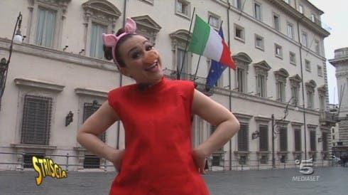Peppa Pig - Valeria Graci - Striscia la Notizia