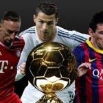 I candidati Ribery, Ronaldo e Messi (foto eurosport.it)