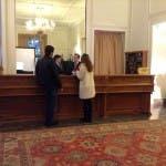 Laetitia Casta arrivata a Sanremo 2014