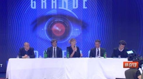 la conferenza stampa del GF