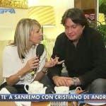 Cristiano De Andrè da Sanremo
