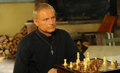 Terence Hill in Don Matteo 9