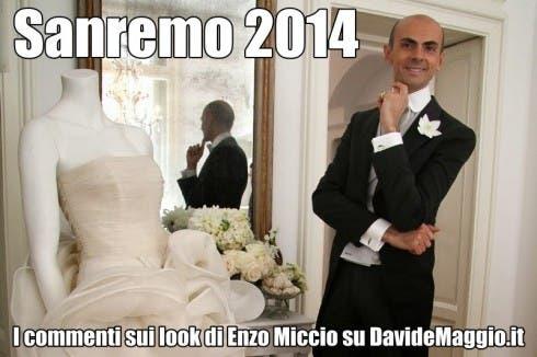 Festival di Sanremo 2014: i commenti di Enzo Miccio sui look