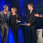 George Clooney a che tempo che fa pagelle