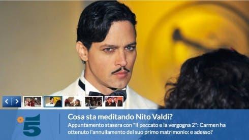 Il Peccato e la Vergogna 2 - Nito Valdi (Gabriel Garko)