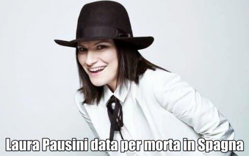Laura Pausini morta