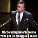 Marco Mengoni a Sanremo 2014