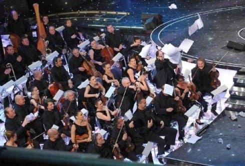 L'orchestra contesta il televoto nel Sanremo 2010