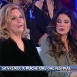 Sanremo 2014 - Iva Zanicchi e Alba Parietti