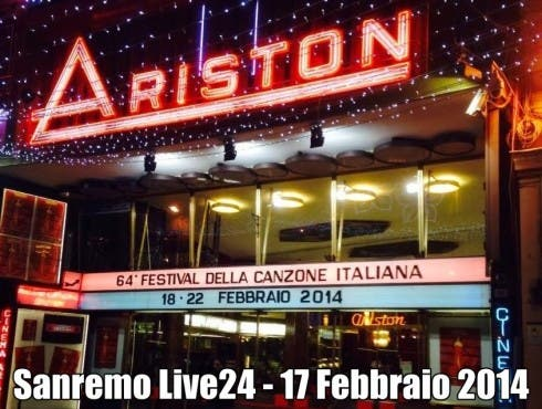 Sanremo 2014 - Teatro Ariston