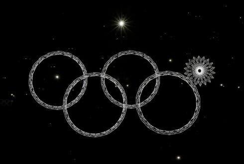 Sochi 2014 - 4 cerchi olimpici