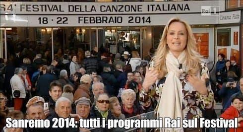 Uno Mattina Magazine in diretta da Sanremo