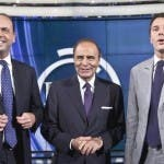 Angelino Alfano, Bruno Vespa, Matteo Renzi