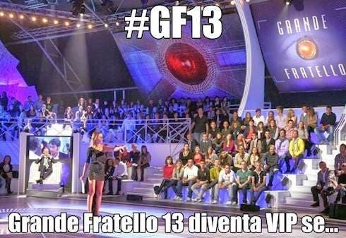 Grande Fratello 13 diventa VIP se...