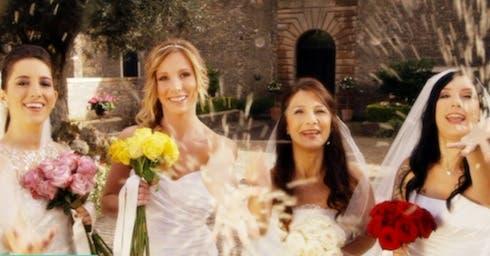 ascolti quattro matrimoni in italia