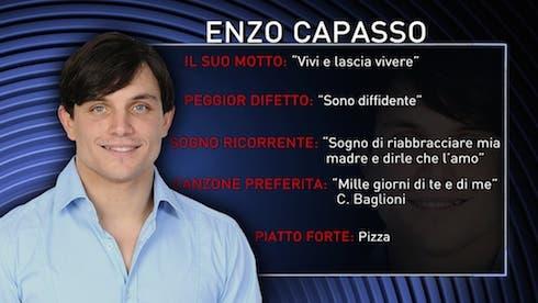 Enzo Capasso GF13 squalificato