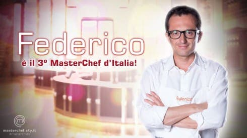 Federico vince Masterchef 3
