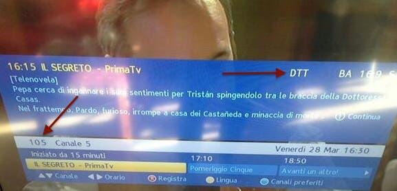 Sky - Canale 5 - cripta