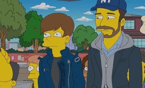 Justin Bieber ne I Simpson