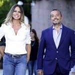 Paola Perego e Franco Di Mare