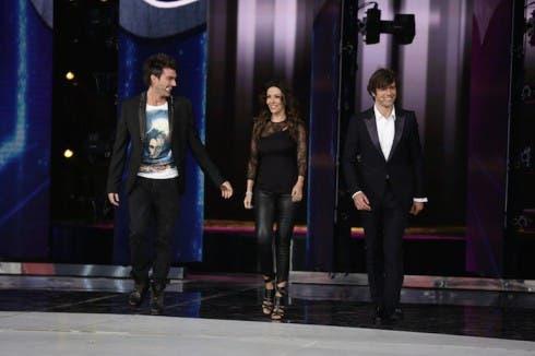 Amici 2014 - Ferilli, Argentero e Ponte
