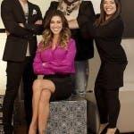 Belen Rodriguez e il team di Come Mi Vorrei