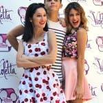 Violetta - Lodovica Comello, Ruggero Pasquarelli e Martina Stoessel