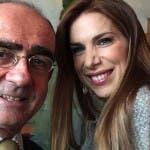 Giancarlo Leone e Veronica Maya