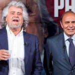 Bruno Vespa e Beppe Grillo, Porta a Porta