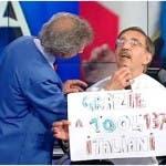 Ignazio La Russa taglia la barba, Porta a Porta