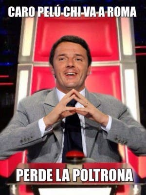 Matteo Renzi - The Voice