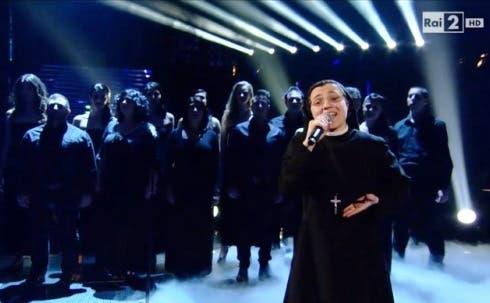 The Voice 2 - Suor Cristina  canta Uno su mille