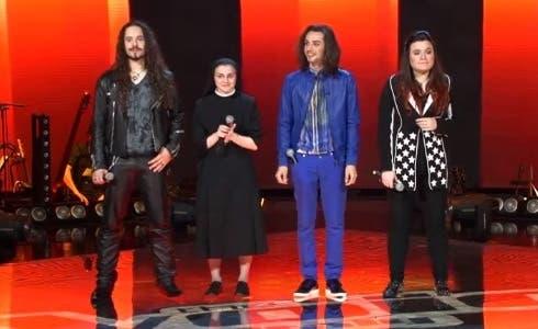 I quattro finalisti di The Voice 2