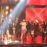 The Voice 2014 Semifinale Ricky Martin con tutti i concorrenti