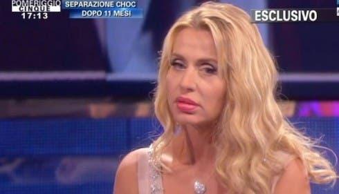 Valeria Marini a Pomeriggio Cinque