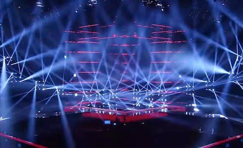 Eurovision Song Contes 2014 - Il Palco