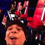 The Voice Live Show - Selfie in diretta per i coach