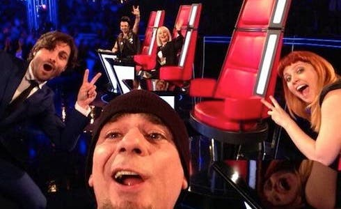 The Voice Live Show - Selfie in diretta per i coach