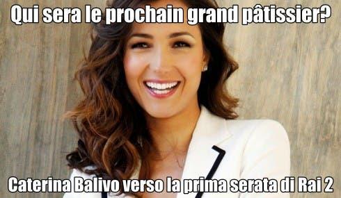 Caterina Balivo - Qui sera le prochain gran patissier?