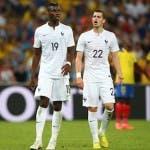 Paul Pogba e Morgan Schneiderlin  (Photo by Julian Finney/Getty Images for Sony)