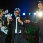 Pif riceve il premio (Francesco Prandoni)