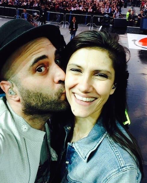 Giuliano Sangiorgi ed Elisa