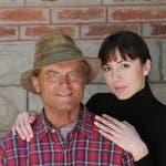 Terence Hill e Michelle Bonev