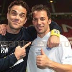 del piero e robbie williams