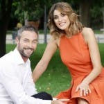 Flavio Montrucchio con Elisa Isoardi