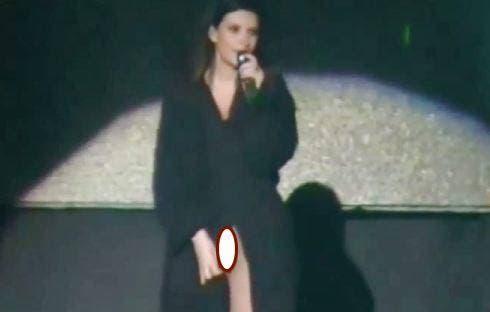 Laura Pausini - Lima - mutande