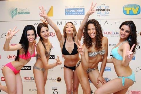 Miss Italia 2014 - 5 prefinaliste